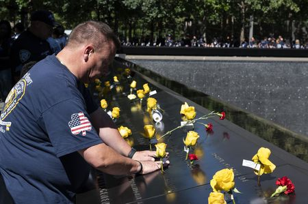 LOWER MANHATTAN, 20TH ANNIVERSARY 9/11