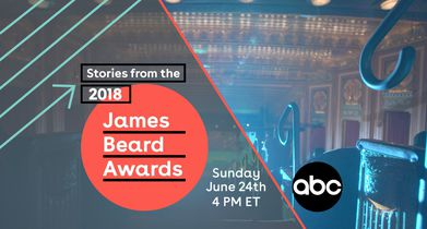 JBFA: Stories from the 2018 James Beard Awards