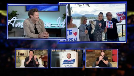 RYAN SEACREST, LIONEL RICHIE, KATY PERRY, LAUREN SPENCER-SMITH, LUKE BRYAN