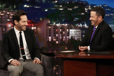 PAUL RUDD, JIMMY KIMMEL