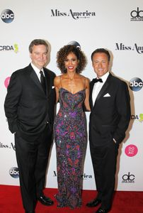 SAM HASKELL, EXECUTIVE CHAIRMAN AND CEO, THE MISS AMERICA CORPORATION; CHRIS HARRISON, SAGE STEELE