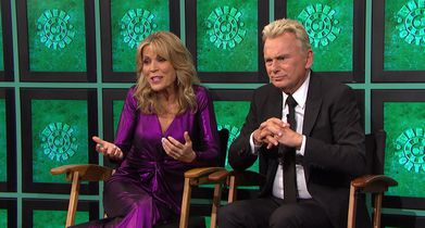 03.Pat Sajak, Host, Vanna White, Co-Host, On a fond moment from season 1