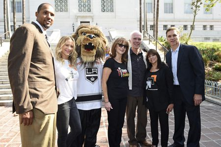 BRIAN COOK, BRITTANY DANIELS, BAILEY, RUSTY ROBERSTON, GIL GARCETTI, LUC ROBITAILLE