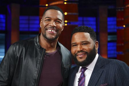 MICHAEL STRAHAN, ANTHONY ANDERSON