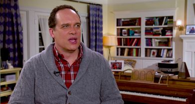 "10.	Diedrich Bader, ""Greg Otto"", On the context of the musical episode"