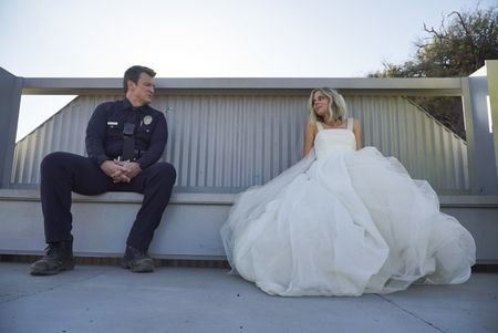 NATHAN FILLION, BRITTANY ROSS