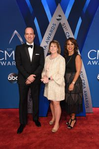 BEN SHERWOOD (CO-CHAIR, DISNEY MEDIA NETWORKS PRESIDENT, DISNEY | ABC TELEVISION GROUP), SARAH TRAHERN (CHIEF EXECUTIVE OFFICER, CMA), CHANNING DUNGEY (PRESIDENT, ABC ENTERTAINMENT)
