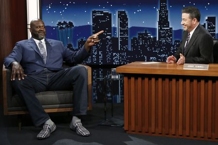 SHAQUILLE O'NEAL, JIMMY KIMMEL