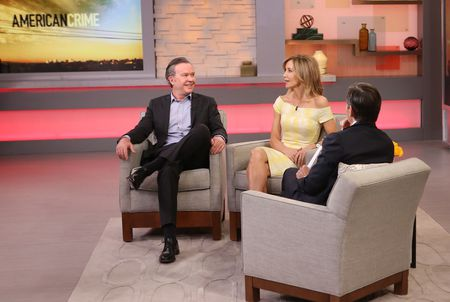 TIMOTHY HUTTON, FELICITY HUFFMAN, GEORGE STEPHANOPOULOS