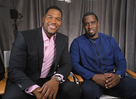 """MICHAEL STRAHAN, SEAN """"DIDDY"""" COMBS"""
