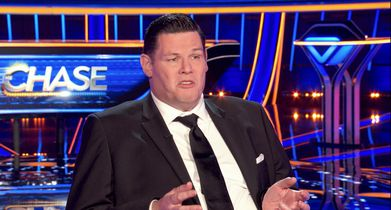 """The Chase Season 2 EPK Soundbites - 09. Mark Labbett """"The Beast"""", Chaser, On the challenges of joining a trivia show in the United States"""