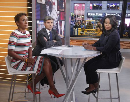 ROBIN ROBERTS, GEORGE STEPHANOPOULOS