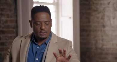 "13. Blair Underwood, ""Owen Hall"" On the teamwork between the characters"