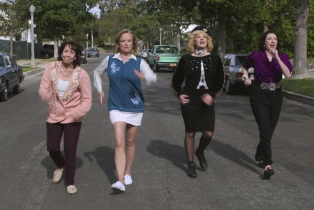 MINDY STERLING, JENNIFER IRWIN, WENDI MCLENDON-COVEY, STEPHANIE COURTNEY