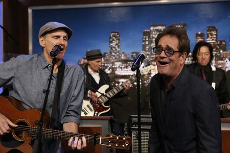JAMES TAYLOR, HUEY LEWIS, CLETO AND THE CLETONES