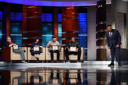 PATTON OSWALT, KRISTEN SCHAAL, TARAN KILLAM, MICHAEL STRAHAN, ANTHONY ANDERSON