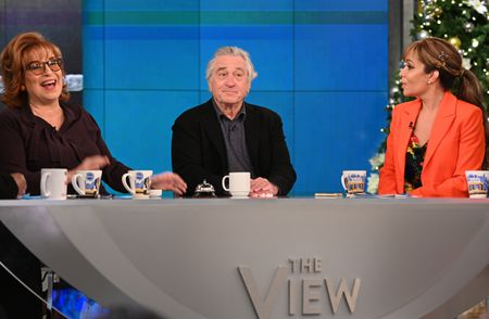 JOY BEHAR, ROBERT DENIRO, SUNNY HOSTIN