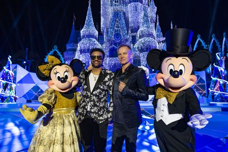 MINNIE MOUSE, SHAGGY, STING, MICKEY MOUSE