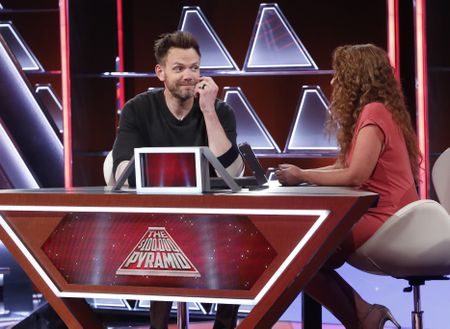JOEL MCHALE, EMILY HOLLOWELL