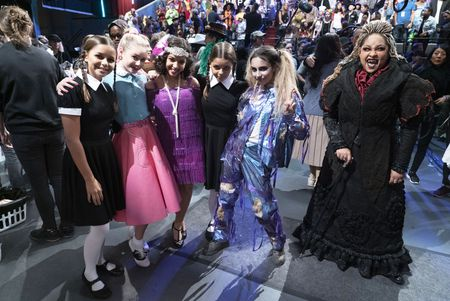 SAVANNAH AND MADDISON HUBBARD, RUBY ROSE TURNER, RUTH RIGHI, KYLIE CANTRALL, RAVEN-SYMONE