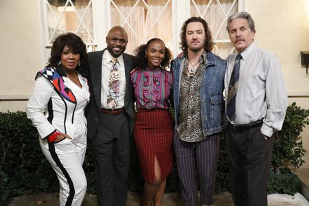 CHRISTINA ANTHONY, WAYNE BRADY, TIKA SUMPTER, MARK-PAUL GOSSELAAR, GARY COLE