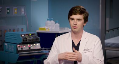 "02. Freddie Highmore, ""Dr. Shaun Murphy"", On his character's relationship with ""Carly Lever"""