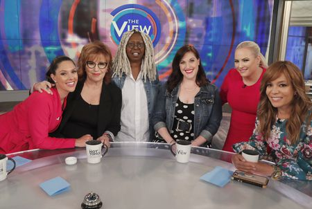 ABBY HUNTSMAN, JOY BEHAR, WHOOPI GOLDBERG, ALLISON TOLMAN, MEGHAN MCCAIN, SUNNY HOSTIN