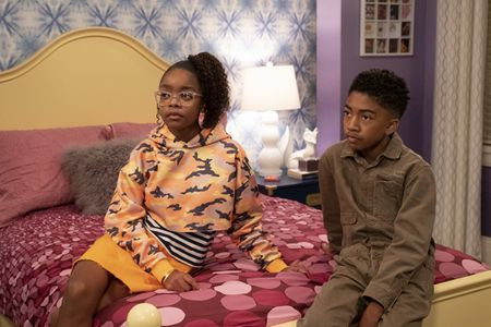 MARSAI MARTIN, MILES BROWN