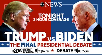 Trump vs. Biden: The Final Presidential Debate