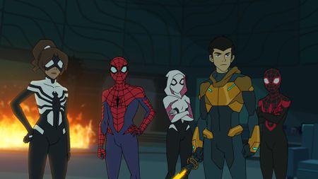SPIDER-GIRL, SPIDER-MAN, GHOST-SPIDER, HARRY OSBORN, MILES MORALES