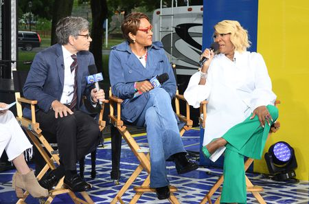 GEORGE STEPHANOPOULOS, ROBIN ROBERTS, PATTI LABELLE