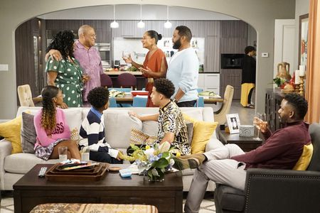 MARSAI MARTIN, LAURENCE FISHBURNE, MILES BROWN, TRACEE ELLIS ROSS, MARCUS SCRIBNER, ANTHONY ANDERSON, BARON VAUGHN