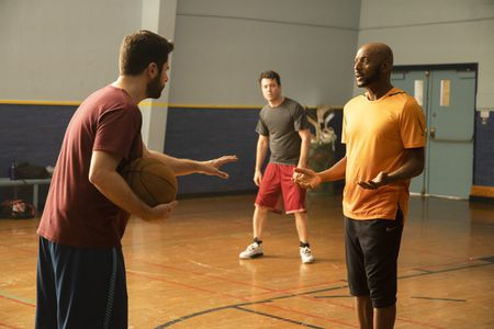JAMES RODAY, RON LIVINGSTON, ROMANY MALCO