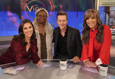 ABBY HUNTSMAN, WHOOPI GOLDBERG, EDWARD NORTON, SUNNY HOSTIN
