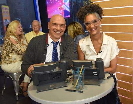 MICHAEL SYMON, CARLA HALL