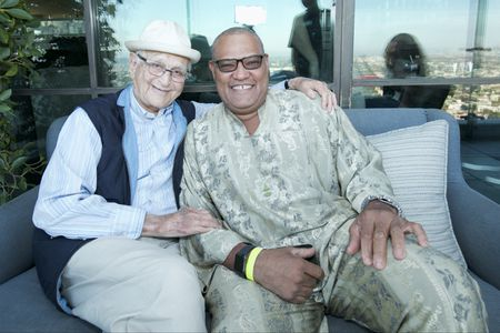 NORMAN LEAR (EXECUTIVE PRODUCER), LAURENCE FISHBURNE
