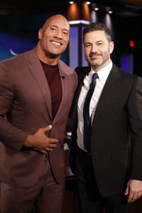 DWAYNE JOHNSON, JIMMY KIMMEL