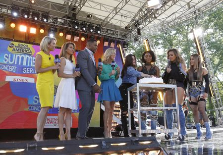 AMY ROBACH, GINGER ZEE, MICHAEL STRAIN, LARA SPENCER, FIFTH HARMONY