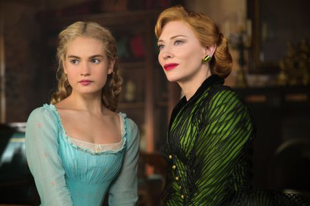 CATE BLANCHETT, LILY JAMES