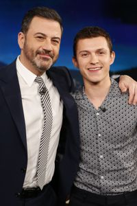 JIMMY KIMMEL, TOM HOLLAND