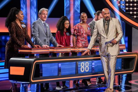 CHRISTINA ANTHONY, GARY COLE, ARICA HIMMEL, TIKA SUMPTER, STEVE HARVEY