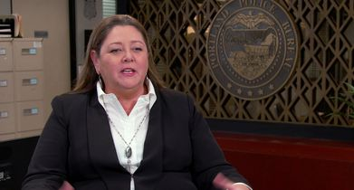 "Stumptown Season 1 EPK Soundbites - 23. Camryn Manheim, ""Lieutenant Cosgrove"", On the premise of the show"