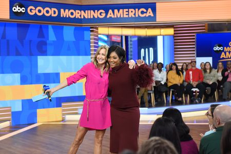 LARA SPENCER, TIFFANY HADDISH