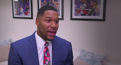 02. Michael Strahan, Host, On why he wants to continue being a part of the show