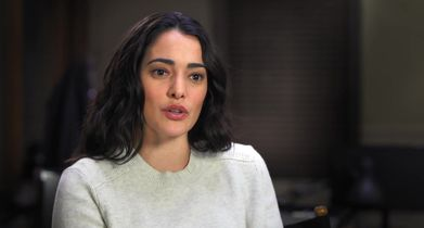 """04. Natalie Martinez, """"Reece"""" On the premise of the show"""