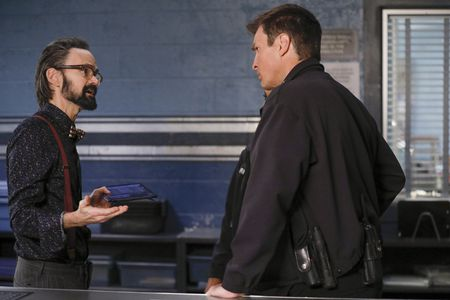 JEREMY DAVIES, NATHAN FILLION
